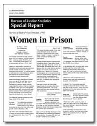 Women in Prison by Snell, Tracy L.
