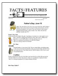 Father's Day : June 15 by Department of Commerce