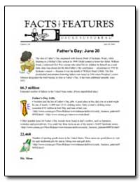 Father's Day : June 20 by Department of Commerce