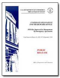 United States Patent and Trademark Offic... by Department of Commerce