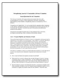 Strengthening Americas Communities Advis... by Department of Commerce