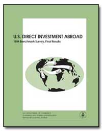 U.S. Direct Investment Abroad 1994 Bench... by Department of Commerce