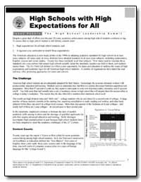 High Schools with High Expectations for ... by Department of Education