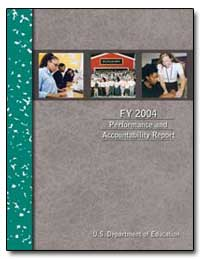 Fy 2004 Performance and Accountability R... by Paige, Rod