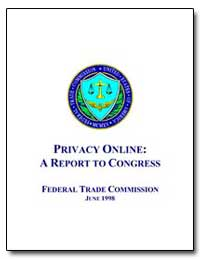 Privacy Online: A Report to Congress by Pitofsky, Robert