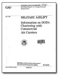 Military Airlift Information on Dods Cha... by Pinley, Harry R.