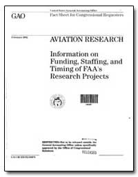 Aviation Research, Information on Fundin... by Mead, Kenneth M.