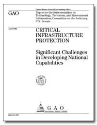 Critical Infrastructure Protection Signi... by General Accounting Office