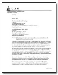 Federal Communications Commission : Asse... by Wannisky, Kathleen E.
