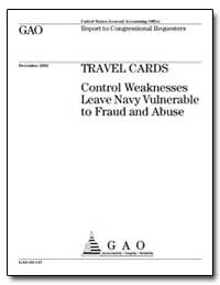 Travel Cards Control Weaknesses Leave Na... by General Accounting Office
