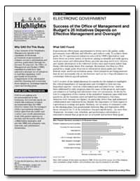 Success of the Office of Management and ... by General Accounting Office