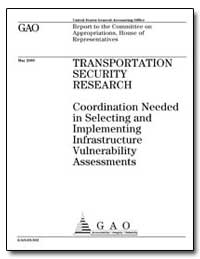 Transportation Security Research Coordin... by General Accounting Office