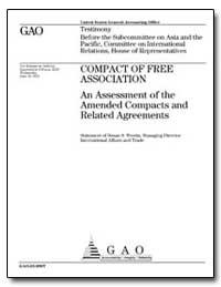 Compact of Free Association an Assessmen... by Westin, Susan S.