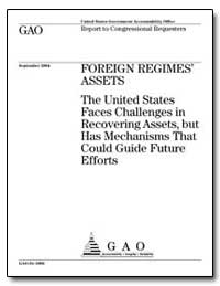 The United States Faces Challenges in Re... by General Accounting Office