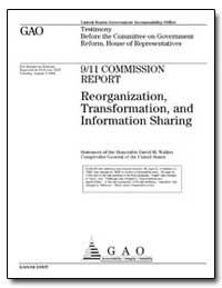 Reorganization, Transformation, And Info... by Walker, David M.