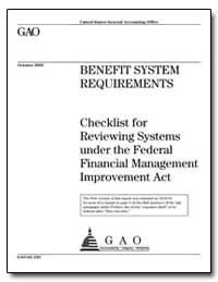 Checklist for Reviewing Systems under th... by General Accounting Office