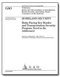 Testimony before the Subcommittee on Imm... by Hite, Randolph C.