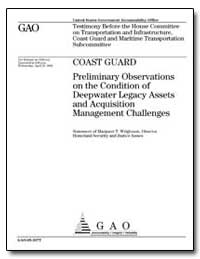Coast Guard Preliminary Observations on ... by General Accounting Office