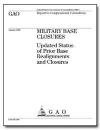 Military Base Closures Updated Status of... by General Accounting Office