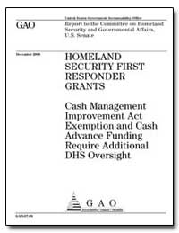 Cash Management Improvement Act Exemptio... by General Accounting Office