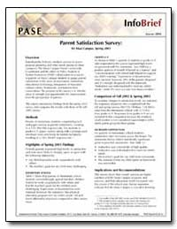 Parent Satisfaction Survey : Ks Maui Cam... by State Department of Education