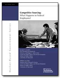 Competitive Sourcing : What Happens to F... by Gansler, Jacques S.