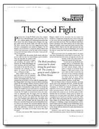 The Good Fight by Kagan, Robert