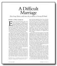 A Difficult Marriage by Gerecht, Reuel Marc