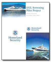 Sail Screening Pilot Project by Transportation Security Administration
