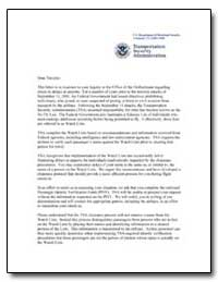 Transportation Security Administration by Transportation Security Administration