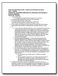 Title 18 United States Code - Crimes and... by United States Department of the Treasury