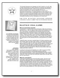 Bulletin #2 : Visual Alarms by United States Access Board