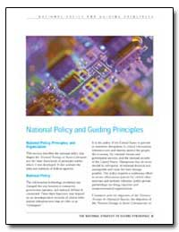 National Policy and Guiding Principles by