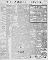 Amador Ledger : Volume 21, April 1906 by R. Webb & F.S. Briggs