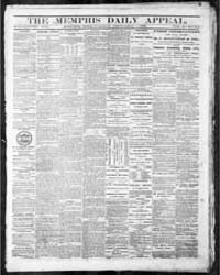 Memphis Daily Appeal : Volume 46, Sep 18... by Seawell, S.T. ; Stanton, W.N.
