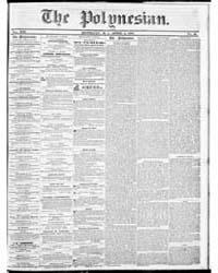 Polynesian : Volume 1, April 1857 by The Polynesian