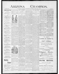 The Arizona Champion : Volume 8, Feb 189... by Fay, A.E.