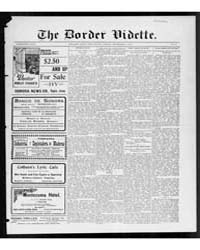 The Border Vidette : Volume 41, Sep 1912 by Vidette Pub. Co.