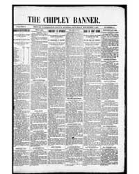 The Chipley Banner : Nov 1897 by C. Tharp & Co.
