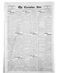 The Coconino Sun : Mar 1912 by Funston, C.M.