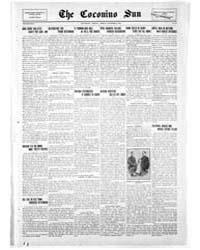 The Coconino Sun : Nov 1915 by Funston, C.M.