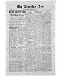 The Coconino Sun : Oct 1908 by Funston, C.M.