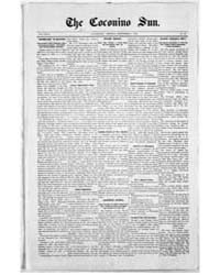 The Coconino Sun : Sep 1906 by Funston, C.M.