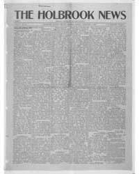 The Holbrook News : Volume 1, Feb 1916 by Sapp, S.