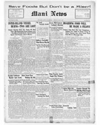Daily Maui News : Volume 1, June 1917 by Robertson, G.B.