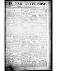 The New Enterprise : Volume 1, April 190... by The New Enterprise