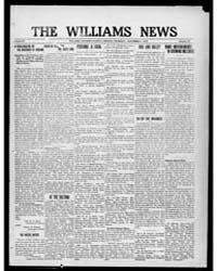 Williams News Microform : Volume 56, Nov... by Wells, F.E.
