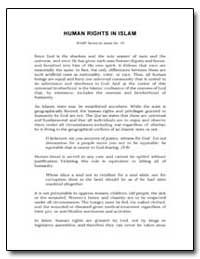 Human Rights in Islam by