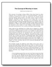 The Concept of Worship in Islam by