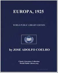 Cas Fernando Pessoa : Europa, 1925 by Geddes, Patrick